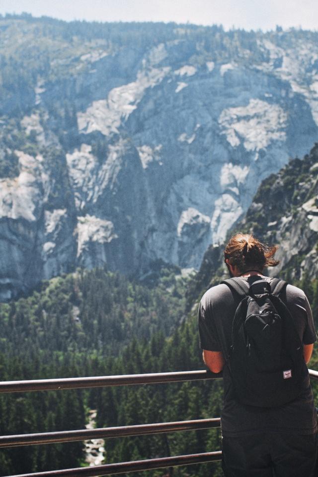 Nic Vargus | Yosemite Hike | Vernal Falls 002